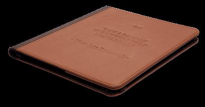 Обложка коричневая Classic