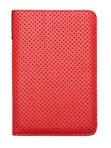 Pocketbook Cover Dots (Rdeča/siva) PB 622/623/624/626/614 (PBPUC-RD-DT)