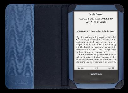 PocketBook Shell Cover voot PocketBook Aqua, blauw (PBPCC-640-BL)