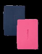 Обложка для PocketBook Mini синий/розовый BLPK-2S
