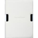 Обкладинка для PocketBook Sense, білий/пурпуровий, PBPUC-630-WE