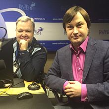 Евгений Милица стал гостем эфира на Радио России