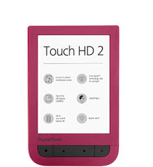 PocketBook Touch HD 2 Ruby Red