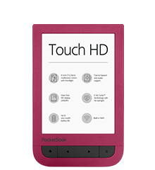 PocketBook Touch HD Ruby Red