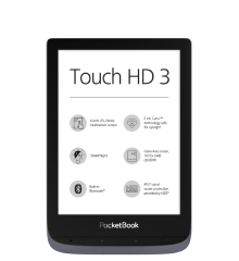 PocketBook Touch HD 3 metallic grey