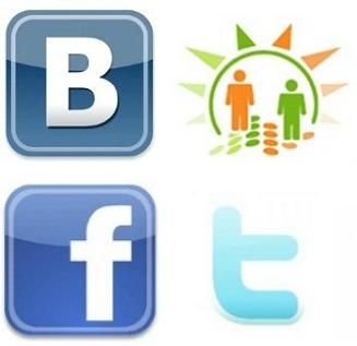 Вконтакте одноклассники фейсбук