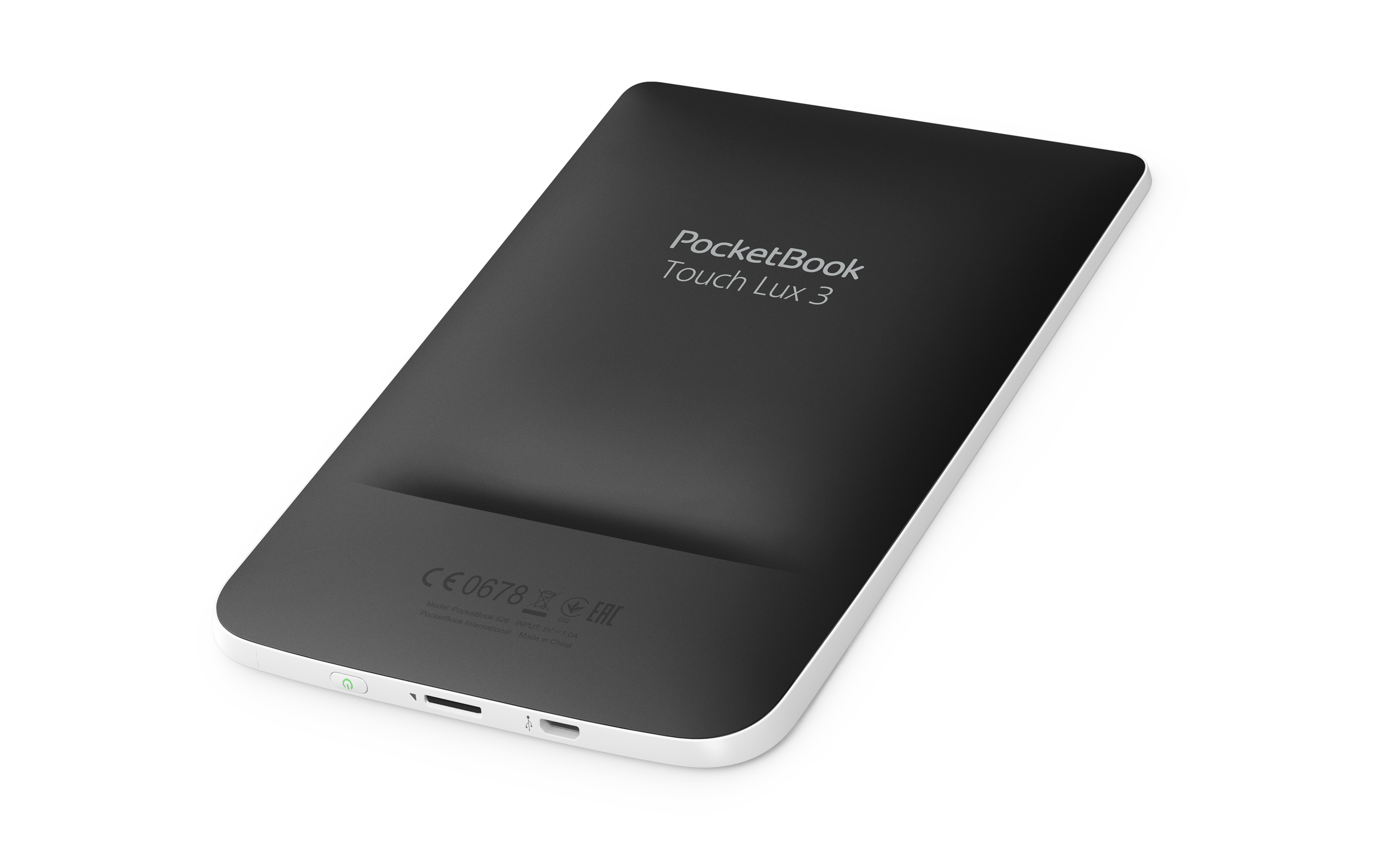 Reading with PocketBook Touch Lux 3