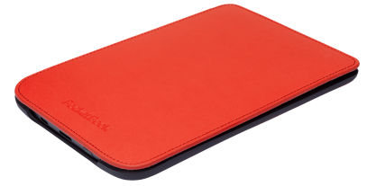 PocketBook Shell cover voor Basic Touch, rood (PBPCC-624-RD)
