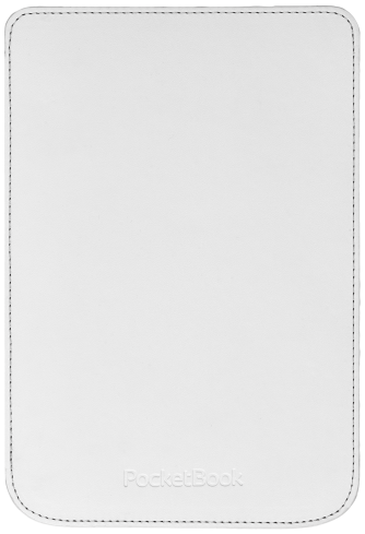 PocketBook Shell cover voor Basic Touch, wit (PBPCC-624-RD)