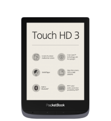 PocketBook Touch HD 3 metalic grey