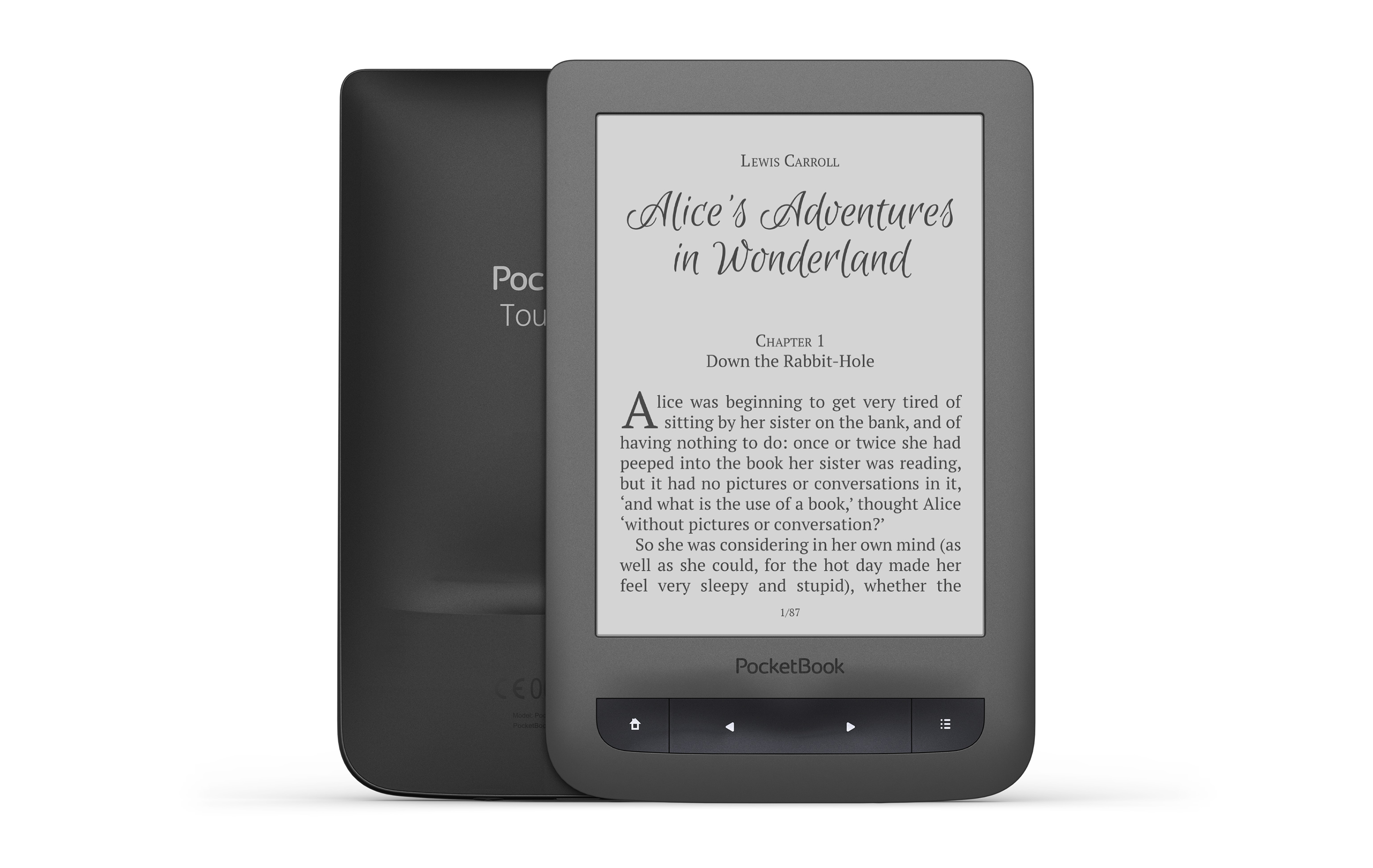 E-book PocketBook 623 Touch 2: review, features and reviews 50